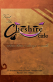 Cheshire Cafe Brochure